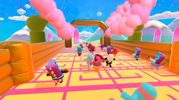 STEAM平台《糖豆人:终极淘汰赛》全新账号